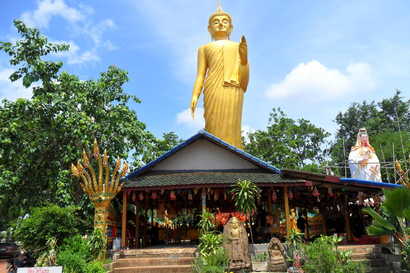 Golden Buddha at Kamchanod Temple & Forest Reserve