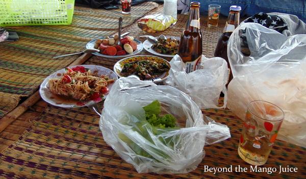 food nam pan lake